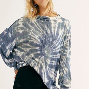 NWT Free People Best Catch Tie Dye Tee Size Small